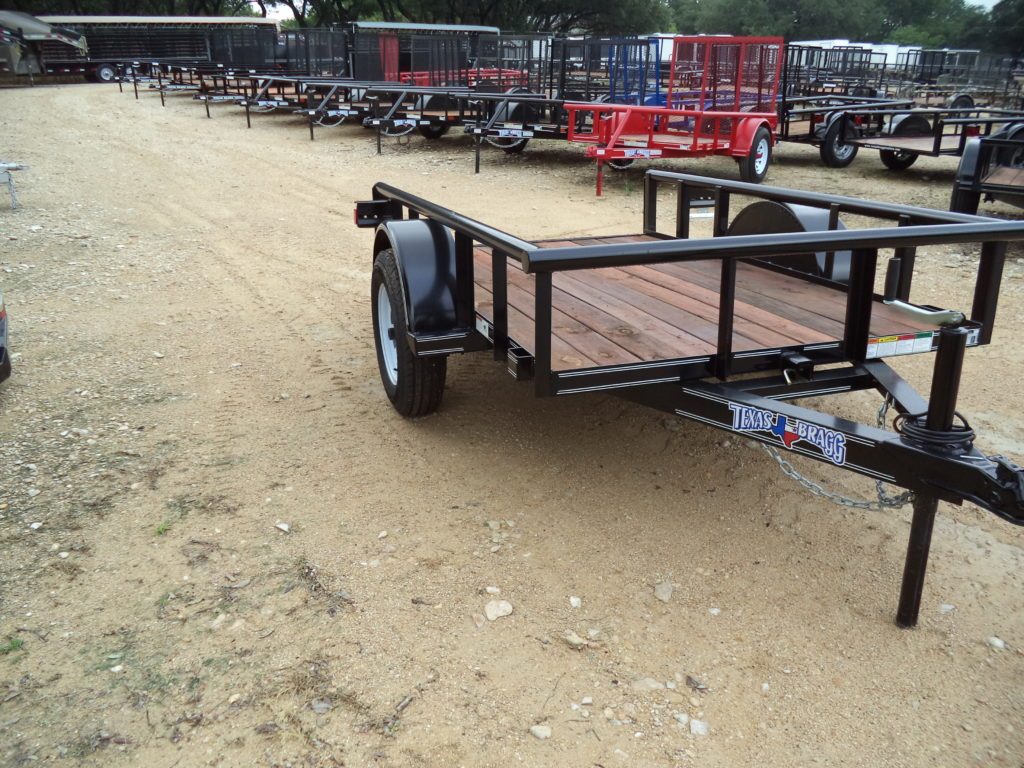 5x8p Utility G1061069 Bragg Trailers Belton Tie Downs Automotive Wiring Harness 2 Atwood Coupler New 205 75 D15 Tires On 5 Lug White Spoke Wheels Sealed 4 Tailgate And Tilt Bed